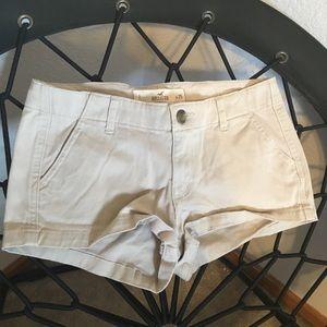 Hollister Tan Khaki Short Shorts Size 1